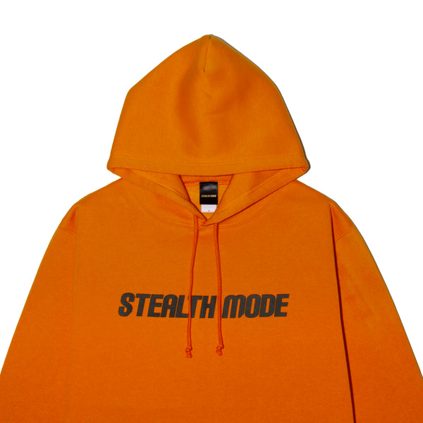 STMD Logo Pullover - orange - StealthMode