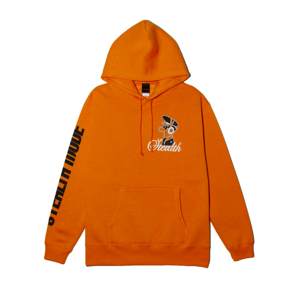 Pilot Logo Pullover - orange - StealthMode