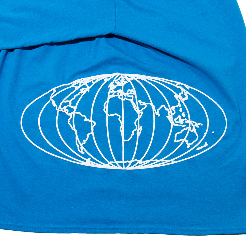 World Map Long Sleeve - Blue - StealthMode