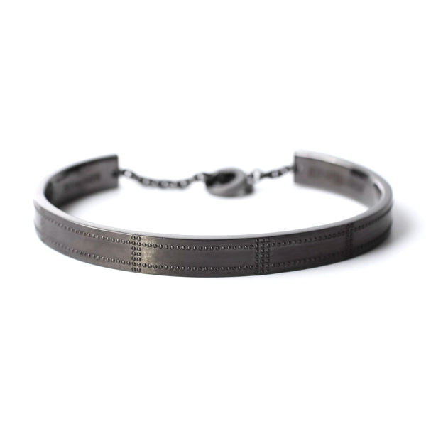 Airplane Surface Bangle - black - StealthMode