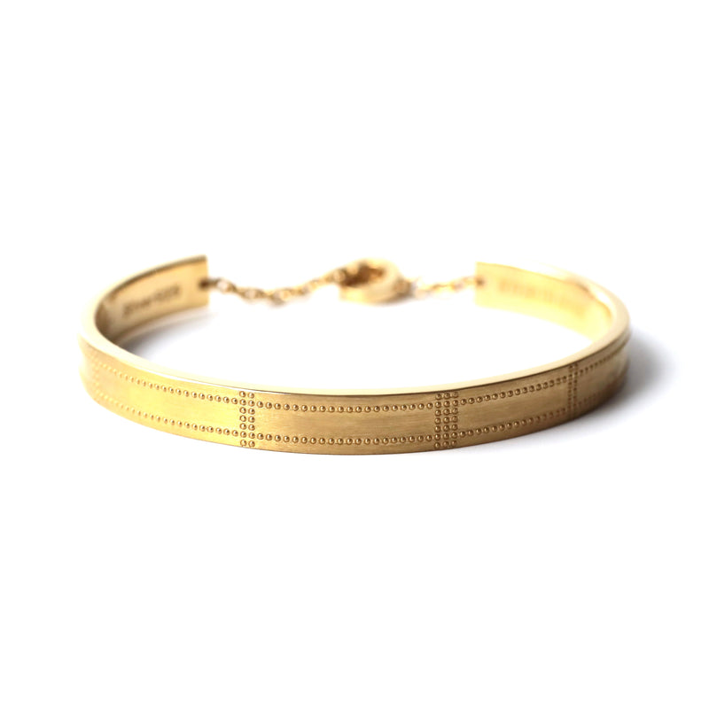 Airplane Surface Bangle - gold - StealthMode
