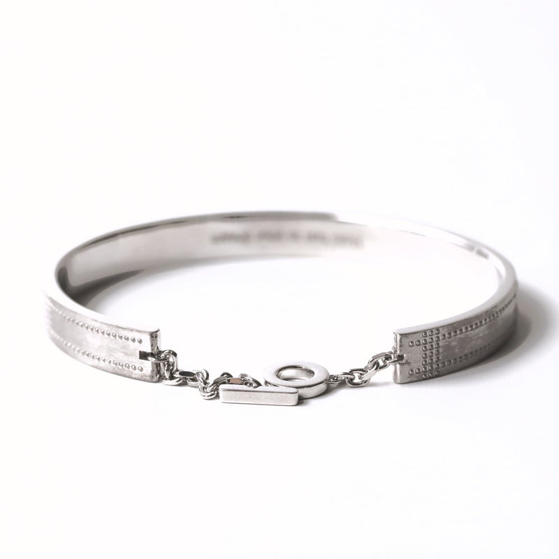 Airplane Surface Bangle - silver - StealthMode