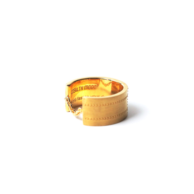 Airplane Surface Ring 5.0mm - gold - StealthMode