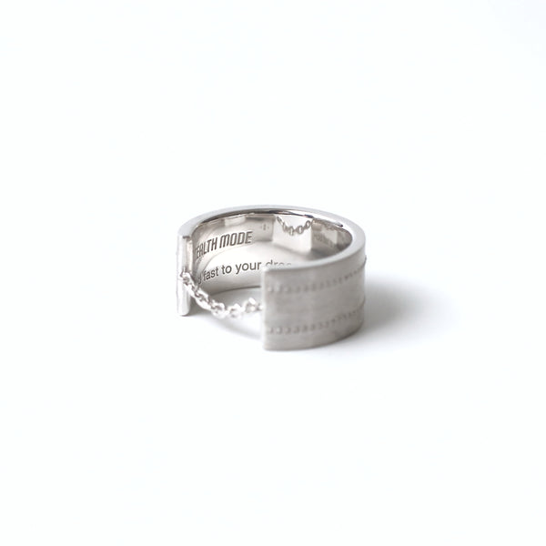 Airplane Surface Ring 5.0mm - silver - StealthMode