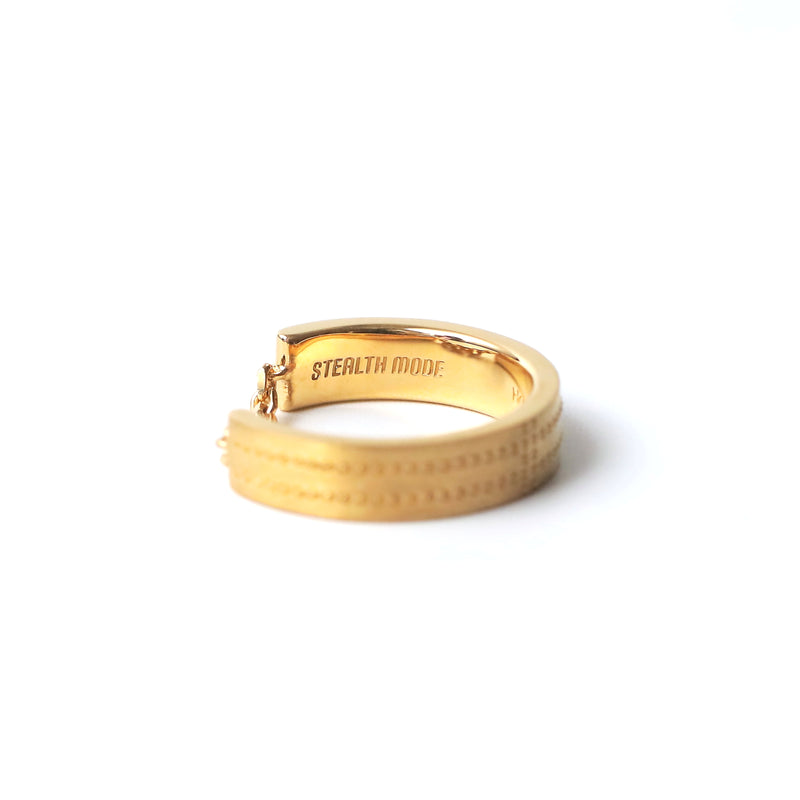 Airplane Surface Ring 2.5mm - gold - StealthMode