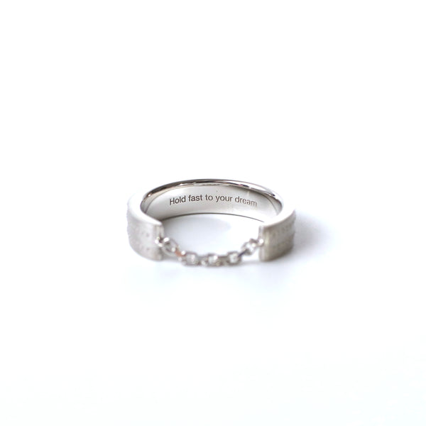 Airplane Surface Ring 2.5mm - silver - StealthMode