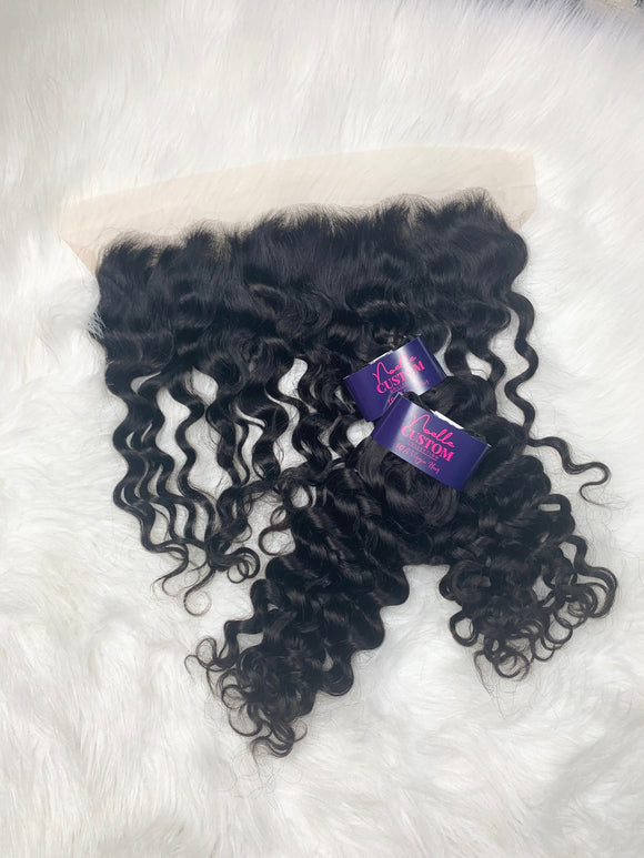 Italian Curly Frontal