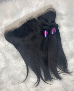 Mongolian Straight Hair Frontal