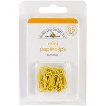 Load image into Gallery viewer, Doodlebug Mini Paperclips 25/Pkg