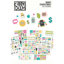 Load image into Gallery viewer, Carpe Diem Budget Sticker Tablet