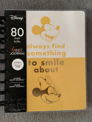 The Happy Planner Colorblock Mickey Minnie Guided Journal
