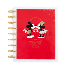 Load image into Gallery viewer, Mickey and Minnie Grateful Heart Classic Vertical Happy Planner - 12 Months