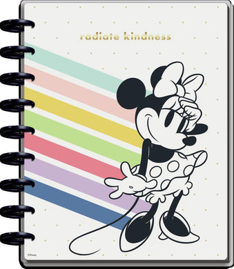 2021 Disney © Minnie Mouse Kindness Classic Colorblock Happy Planner - 12 Months
