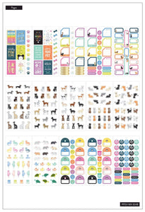 Value Pack Stickers - Pets