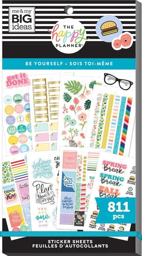 Value Pack Stickers - Be Yourself