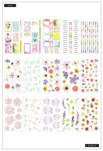 Load image into Gallery viewer, Value Pack Stickers - Pressed Florals