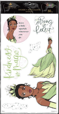 Disney © Princess Strong At Heart Large Icons Stickers