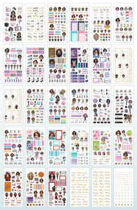 Planner Girl Value Sticker Book