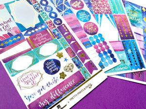 EMPOWERMENT WEEKLY KIT PLANNER STICKERS