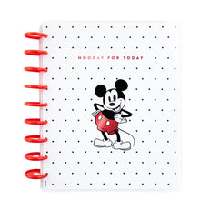 Load image into Gallery viewer, Mickey Mouse Hooray For Today Classic Vertical Happy Planner - 12 Months