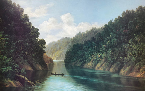 """Wanganui River"" - William George Baker"
