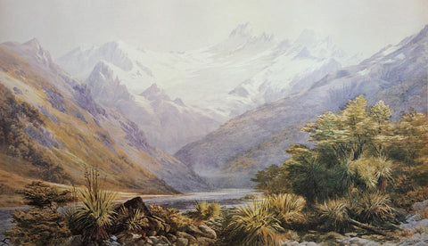 """Mt. Aspiring"" - John Gully"