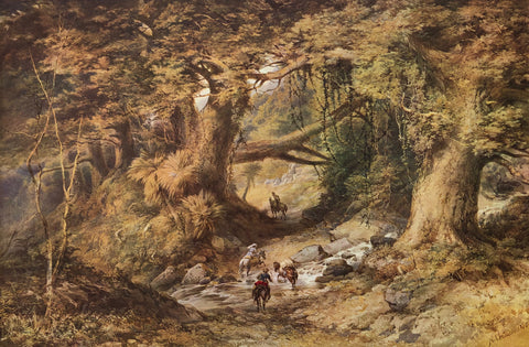 """Crossing the Teremakau River"" - Nicholas Chevalier"