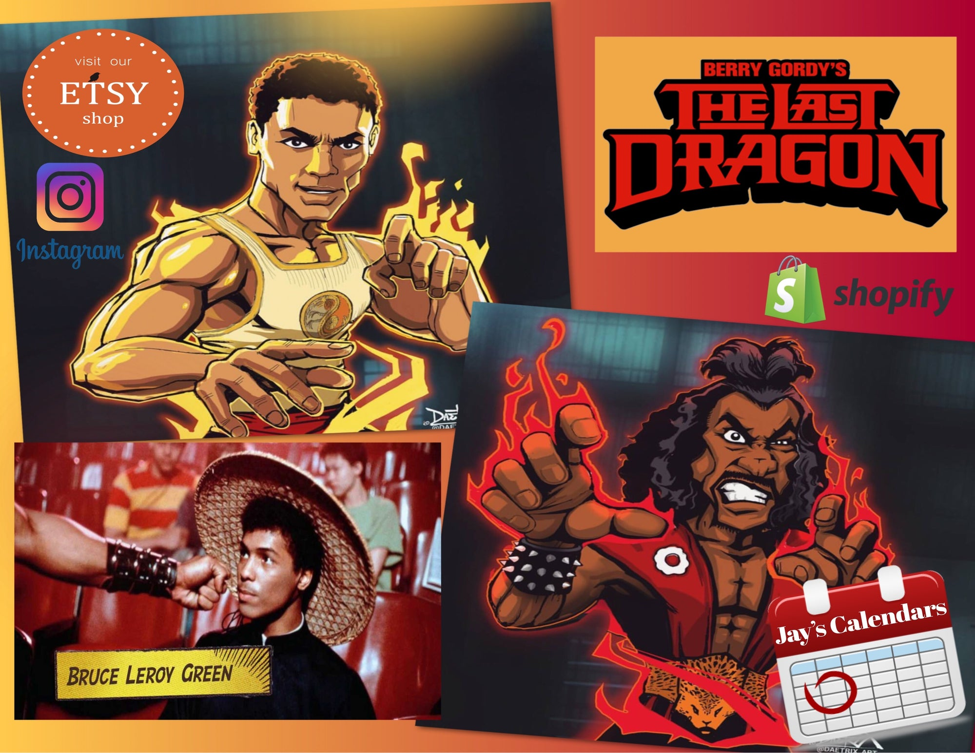 The Last Dragon 2021 Calendar