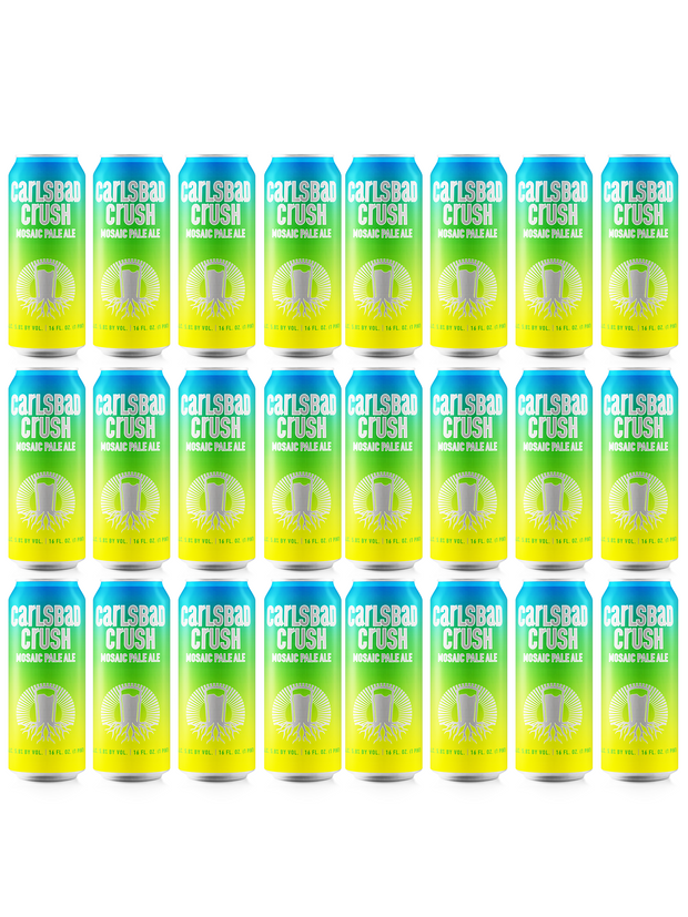 Carlsbad Crush Mosaic Pale Ale - Case Shipping