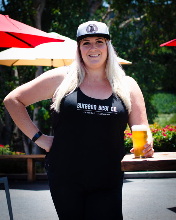 Burgeon Women's Tank | Black
