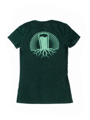 Women's V-Neck | Forest