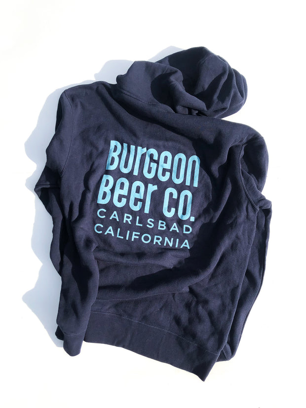 Burgeon Hoodie | Midnight Blue