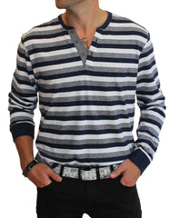 DV Striped Henley