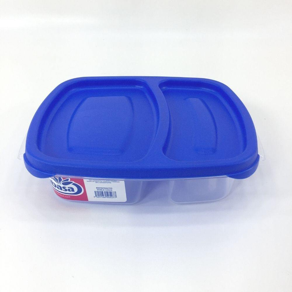 Recipiente doble de plastico 600 ml