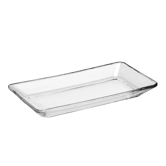 Plato Rectangular  de Vidrio 240 Ml