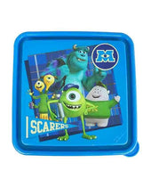 Cargar imagen en el visor de la galería, Recipiente sandwichera sandwichero monsters inc monsters university niño infantil plastico