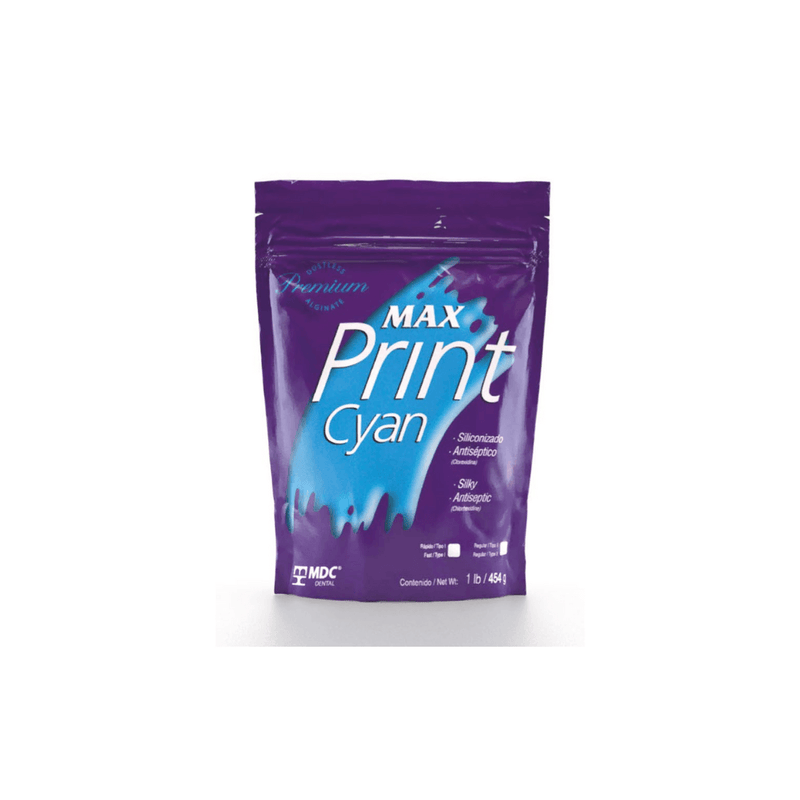 Max Print Cyan Alginate