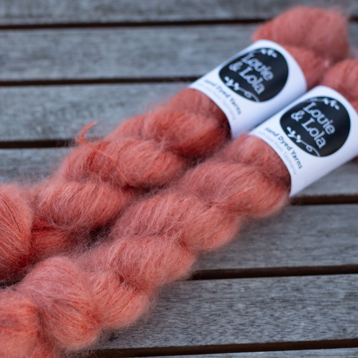 Mohair Silk Lace - Russet