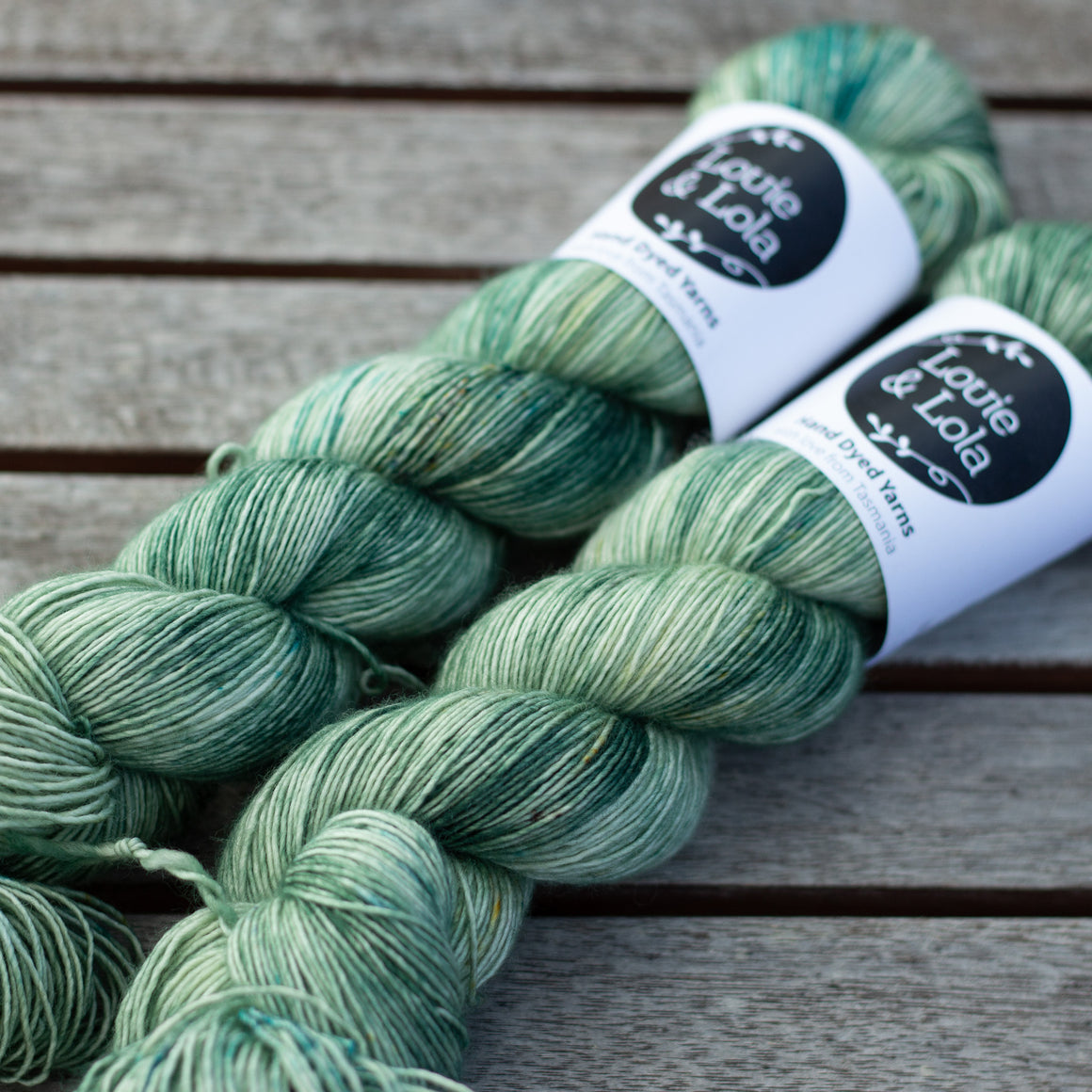 Merino Singles - Green Tea