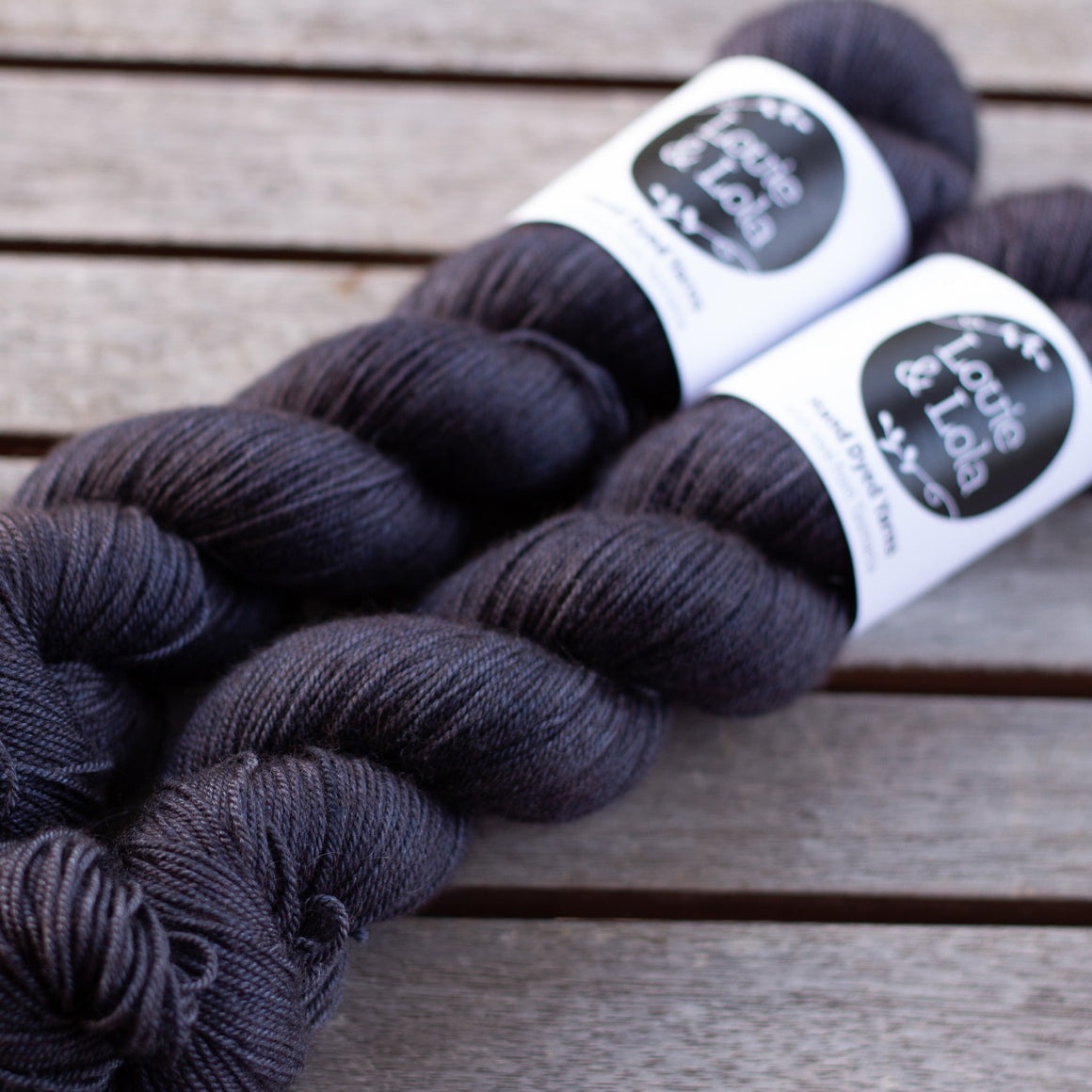 Merino Silk Yak Fingering - The Blues