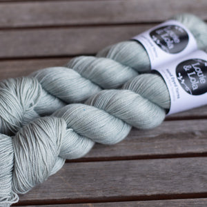 Merino Silk Cashmere Fingering - Light Sage