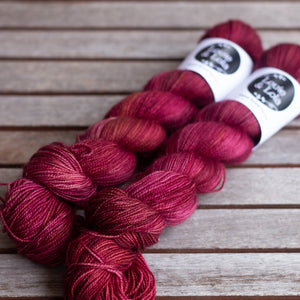 BFL Nylon Fingering - Quince