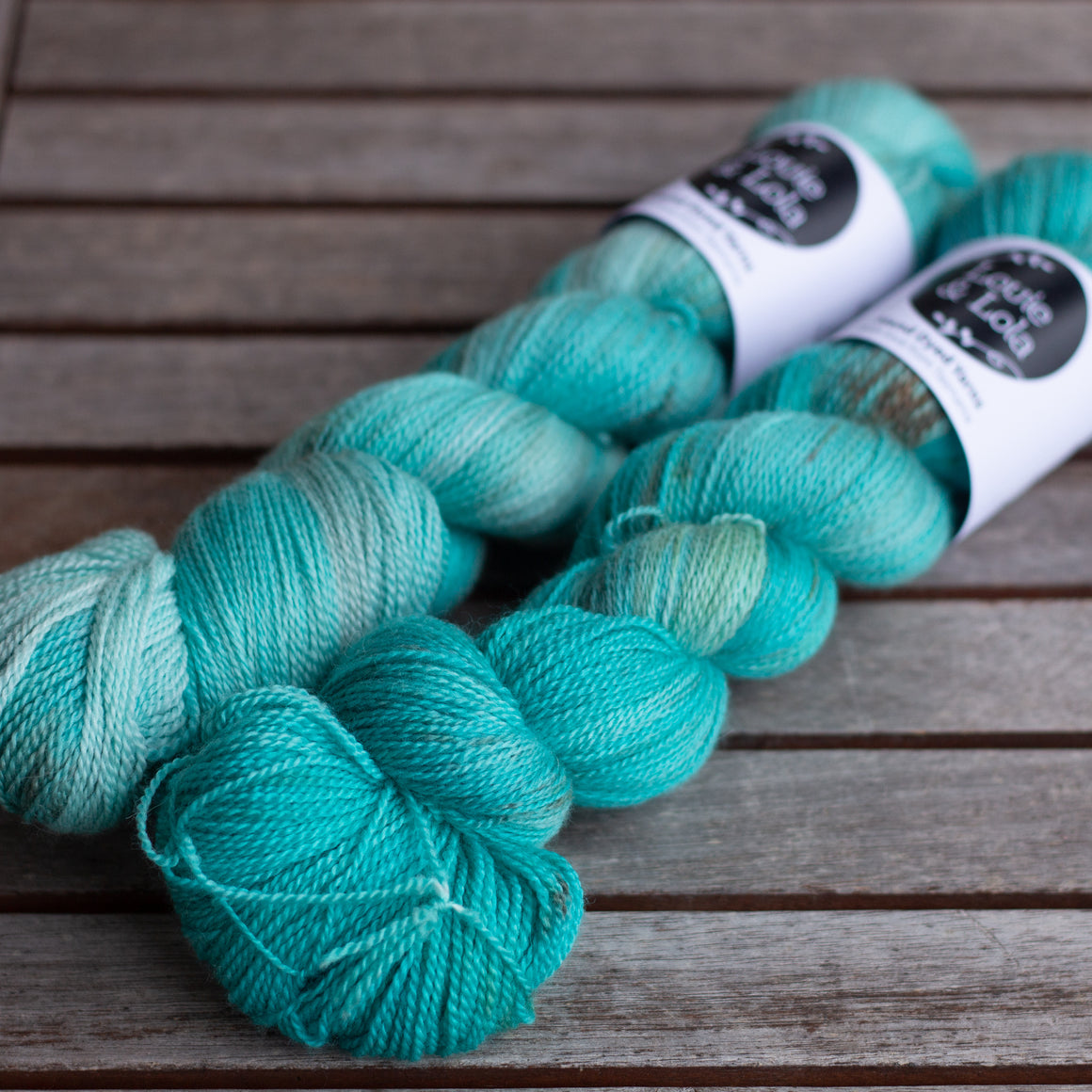 Barrington Merino Silk Lace - Christmas Mint