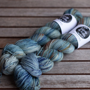BFL Nylon Fingering - Rock Pool