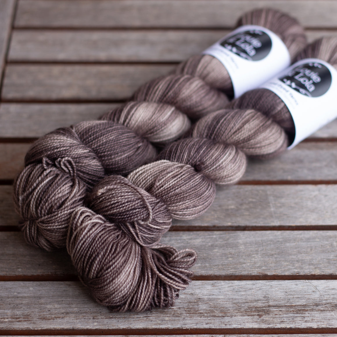 BFL Nylon Fingering - Walnut