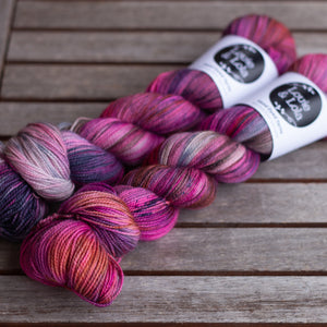 BFL Nylon Fingering - City Lights