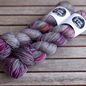 BFL Nylon Fingering - Mountain Light