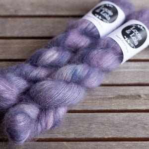 Mohair Silk Lace - Purple Sky