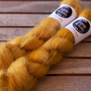 Mohair Silk Lace - Old Gold