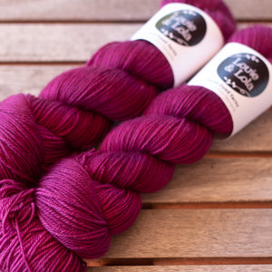 Lola 4 Ply Sock - Berry Delicious
